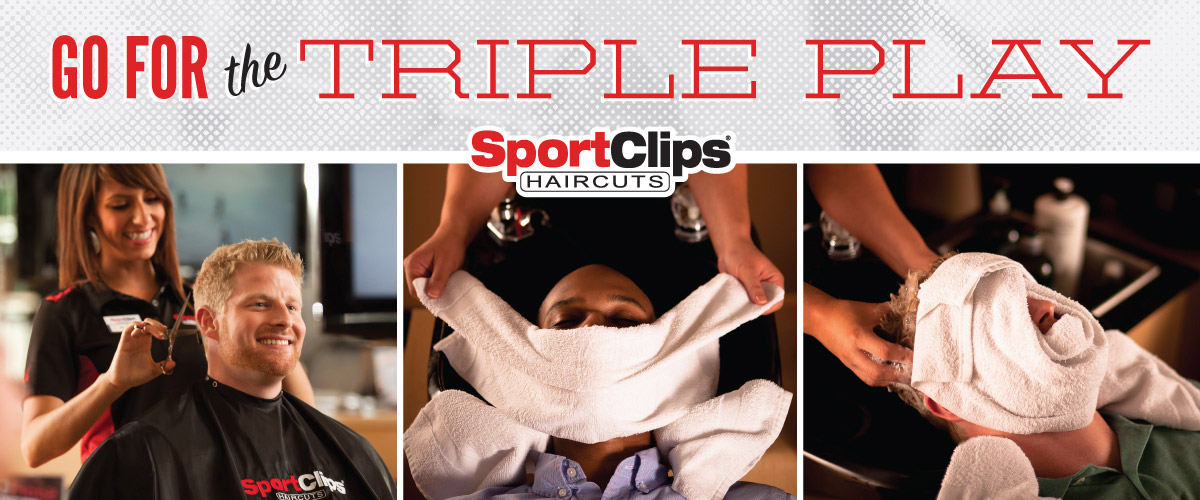 The Sport Clips Haircuts of Ooltewah Triple Play